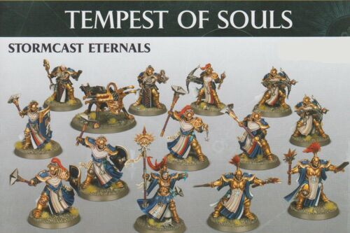 Warhammer Age of Sigmar Free Ship Tempest of Souls Stormcast 13 Mini + Cards