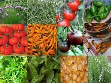 Gemüsegarten auf dem Balkon - 12 Sorten - 200+Samen - Saatgut - AKTION!