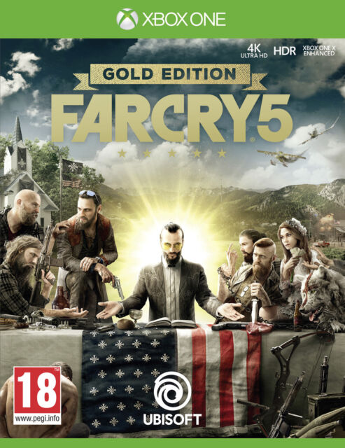 Far Cry 5 Gold Edition Xbox One Game by Ebay Seller