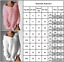 Women-Fluffy-V-Neck-Sweater-Loose-Jumper-Ladies-Long-Sleeve-Pullover-Tops-Blouse thumbnail 2