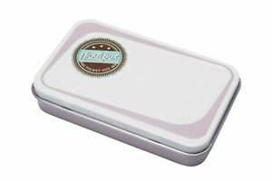 NickelBox Top quality pocket size tin container Nickel Box tobacco case pouch