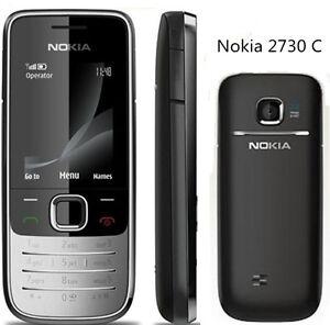 Original Unlocked SIM Nokia 2730 Classic Silver/Black 3G ...