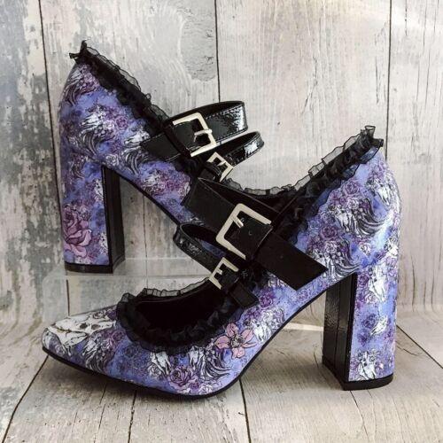 Gothic Unicorn Weddings 7 Shoes Skulls 3 Customised Purple Pastelgoth q1A4S