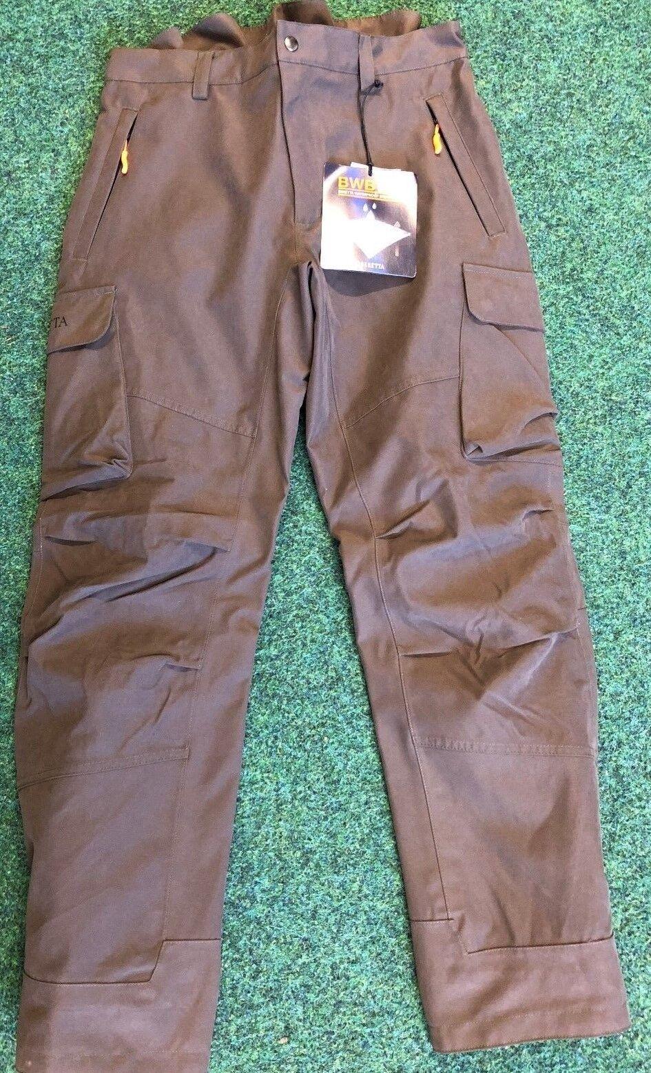 Beretta Brown Bear Hunting Stalking Shooting Trousers Waterproof Breathable