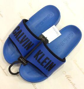Ciabatte Rj54al Blu Beachwear Klein Newebay Calvin Uomo edorCxB