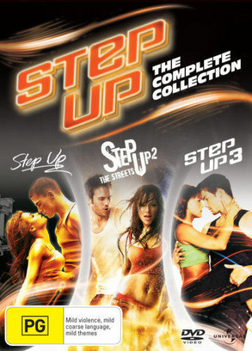 1 of 1 - STEP UP 1 2 3 Collection (3 DVD) CHANNING TATUM ***