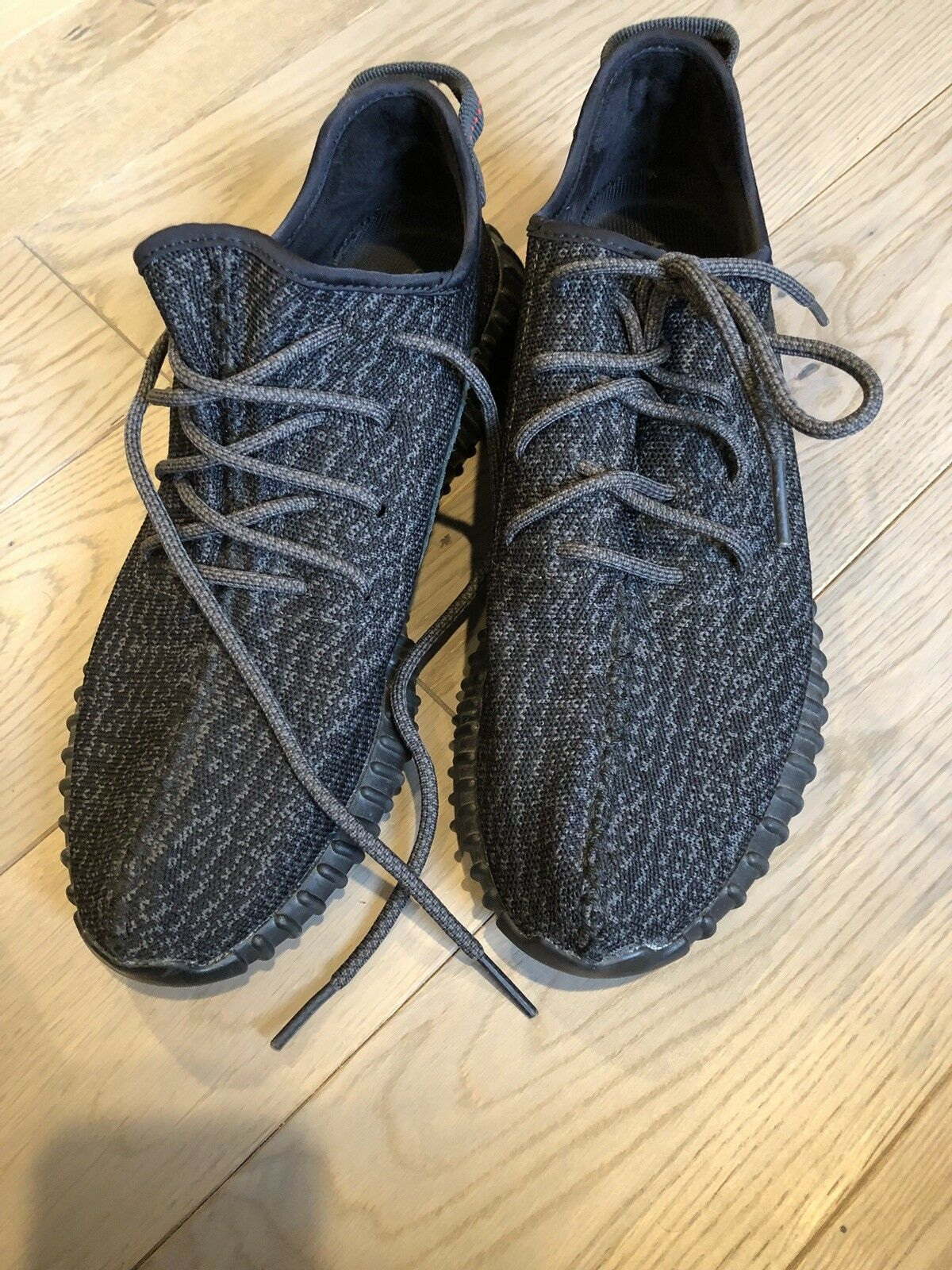 Yeezy boost 350 pirate black size 12