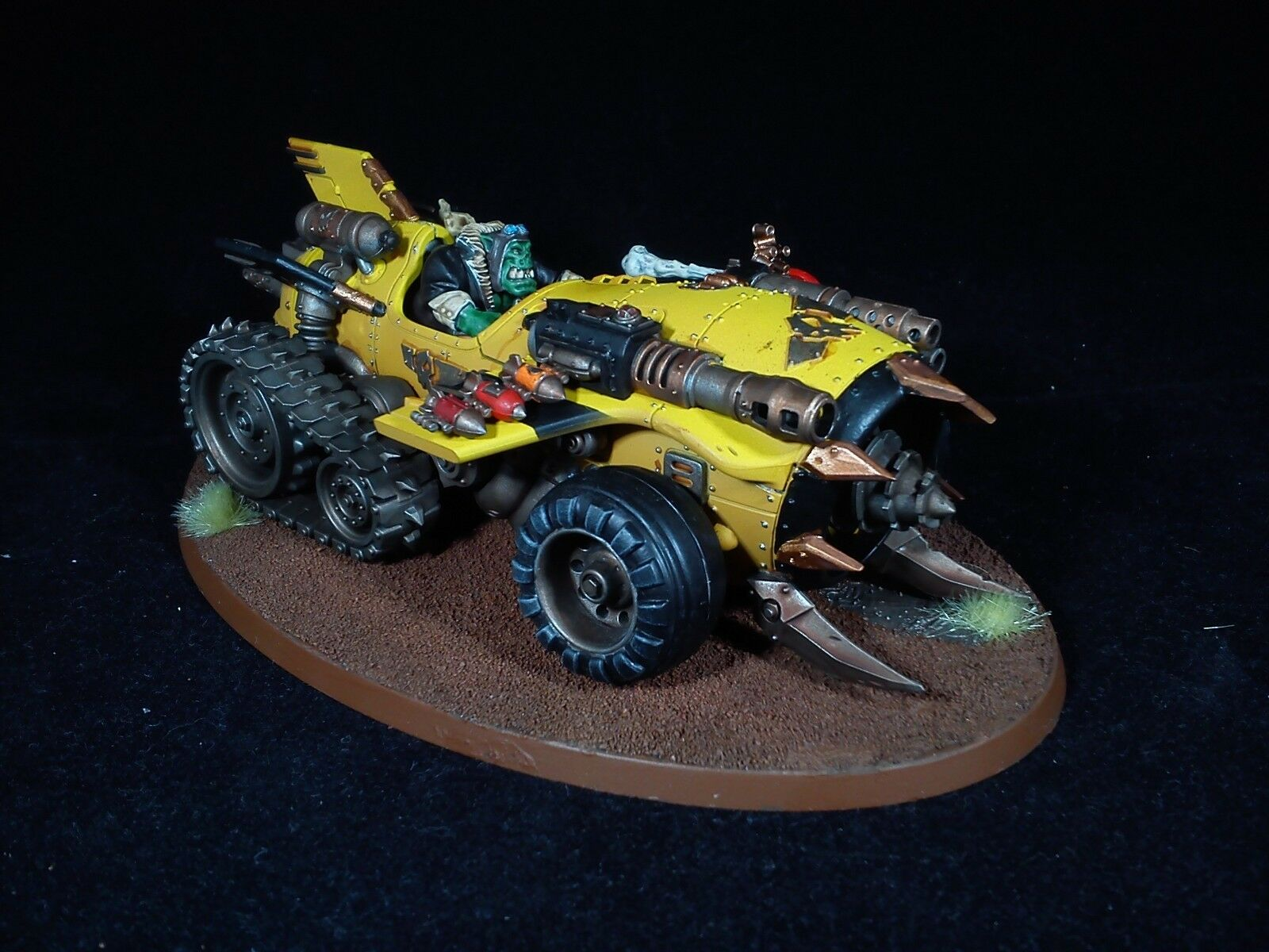 Speed Freeks Megatrakk Scrapjet  Ork warhammer 40k