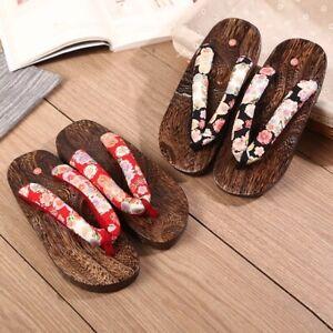 japanische Geta Holzschuhe aus Sandelholz für Kimono / Yukata + Größe 36 bis 44