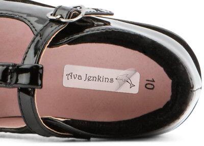25 Adhesiva etiquetas de nombre-Ideal Para Loncheras Y Zapatos