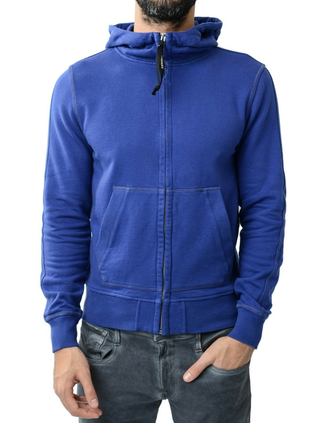 CP Company Goggle Hooded Sweatshirt Royal Royal Royal Blau  | Billiger als der Preis  28bff0