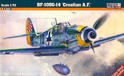 1//72 MISTERCRAFT LIMITED ED ITALIAN /& LUFTWAFFE MKGS MESSERSCHMITT Bf 109 G-12