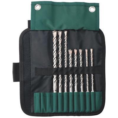 Metabo SDS-plus Bohrersatz mit Pro 4-Rolltasche, 8-teilig