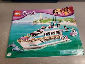 Lego friends 41015 dolphin cruiser Instructions Booklet | eBay
