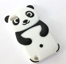 iPod Touch 5th & 6th Gen - Soft Silicone Rubber Case Cover Panda Bear Accessory