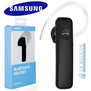 Auricolare Essential Samsung EO-MG920 Bluetooth Multipoint Mono Universale Nero