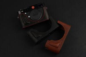 Leica-M240-M240P-MD-Typ262-M-Typ262-MM-Typ246-Fold-Flap-Leather-Half-Case