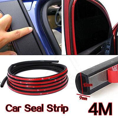 noir fen/être 4M Joint en caoutchouc en forme de D pour porte de voiture 10 x 9 mm /étanche joint de porte autocollant