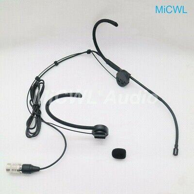 Folding Headset Microphone w// 4 pin mini XLR for Audio Technica *NEW*