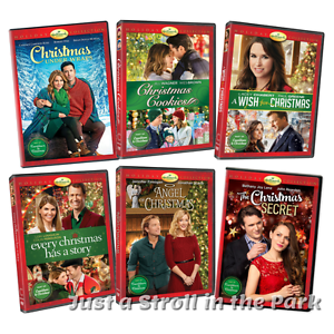 image is loading hallmark 2017 holiday series 6 movie christmas collection