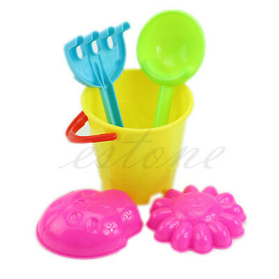 Tiny Beach Sand Tools Toys Bucket Set For Toddler Kids Children Outdoor Toys