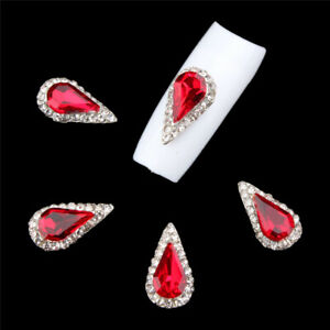 5Pcs-3D-Nail-Art-Rhinestone-Crystal-Glitter-Alloy-Nail-Tips-Charms-Decoration