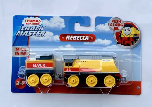 Thomas Friends Railway Portable Play Adventures Push Along Rebecca Train NWR