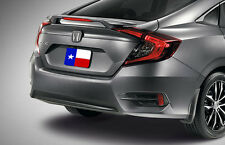 Fits: Honda Civic 2016+ Factory Style Rear Spoiler Primer Finish W/LED USA MADE