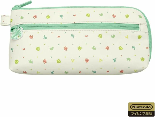 Gathering Animal Crossing Hand Pouch,for Nintendo Switch or Lite,Licensed,HORI