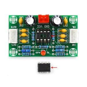 DC 12V-30V NE5532 OP-AMP Stereo Audio Preamp Preamplifier Board Dual Channel NEW