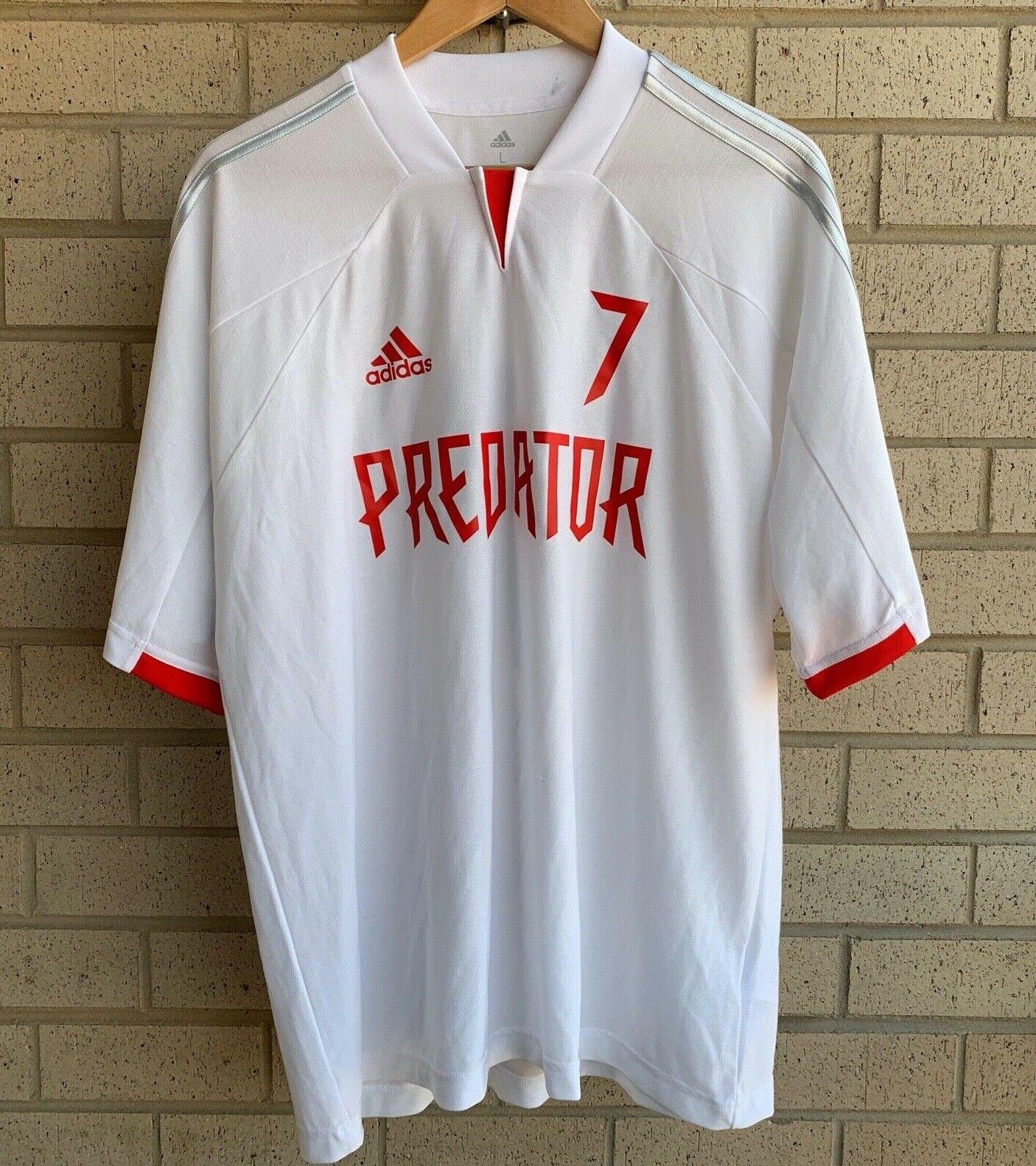 RARE adidas Predator Beckham #7 Soccer Jersey Sample Dz7313 Men M ...