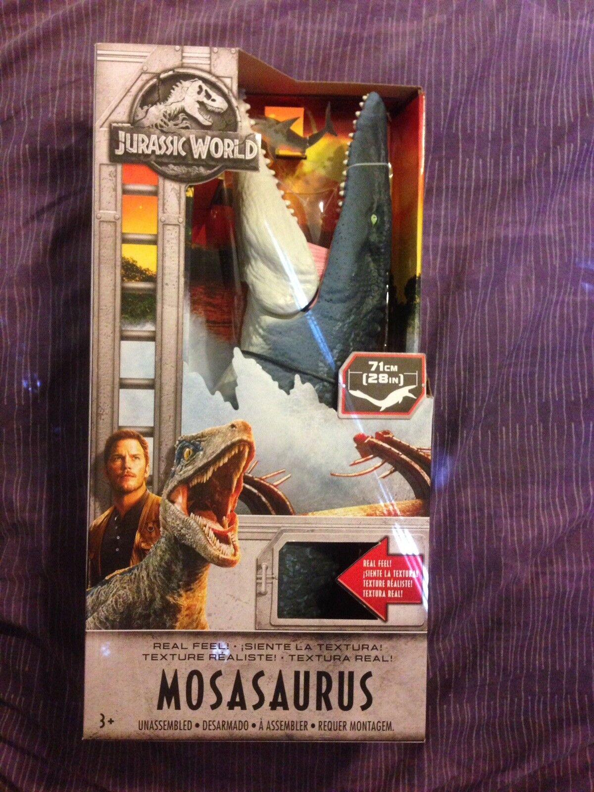 Jurassic welt fühlen mosasaurus abbildung prähistorische realistischen kinder spielzeug neu