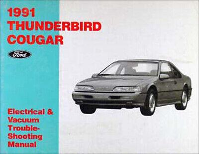 1968 Ford Thunderbird TBird Vacuum Manual