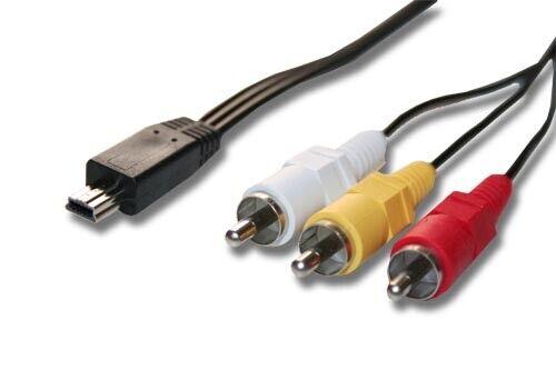 Cámara de cable TV Av estéreo para Canon PowerShot sx240 HS