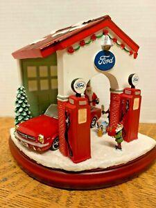 Roman-Amusements-Musical-Ford-Santa-Claus-Garage-ROM-130490