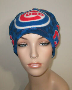 971e248d0 Image is loading Cancer-Chemo-Hat-Chicago-Cubs-Fleece-Alopecia-Comfy-