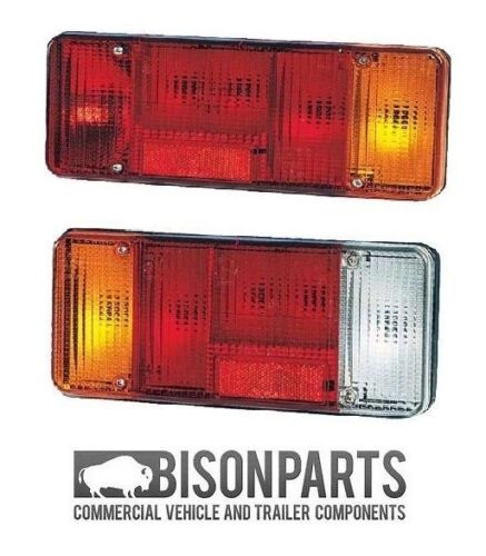 *TALBOT EXPRESS REAR TAIL LAMP LIGHT LENS LH /& RH C//W FOG /& REVERSE BP90-101//102