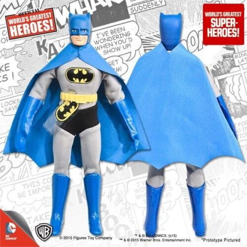 "Mego Batman Fabric Cape Reproduction For 8"" Action Figure WGSH Custom Parts Lot"