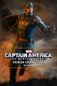 förundras sideshow samlaives Captain America Winter Soldier Premium 1 4 Staty