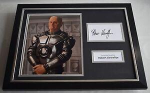 Robert-Llewellyn-SIGNED-FRAMED-Photo-Autograph-16x12-display-Red-Dwarf-TV-COA