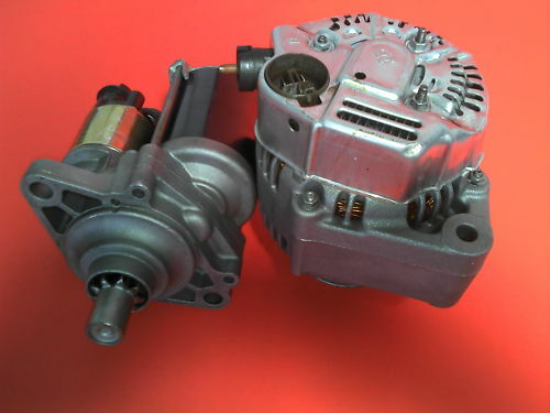 1998 to 2002  Honda Accord w//MT   90AMP Alternator /& PMGR Starter SET