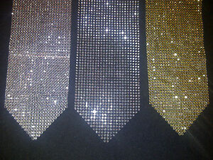 Rhinestone Sparkle Bling Silver Gold Wedding Table