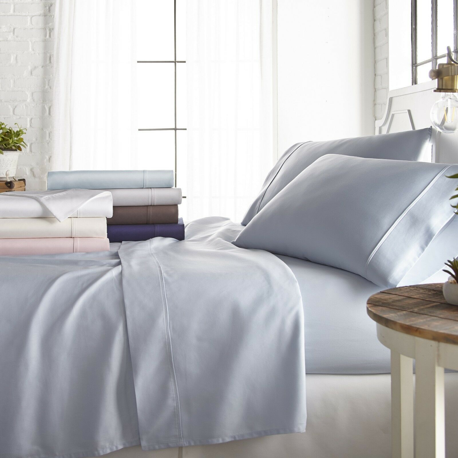 Home Collection Ultra Soft 800 Thread Count 4 Piece Cotton Rich Sheet Set