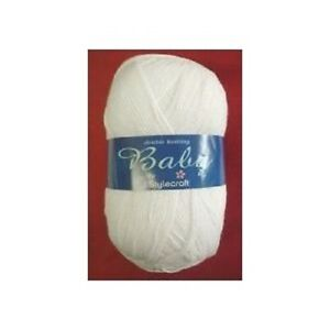 STYLECRAFT-BABY-DK-200g-Various-Colours