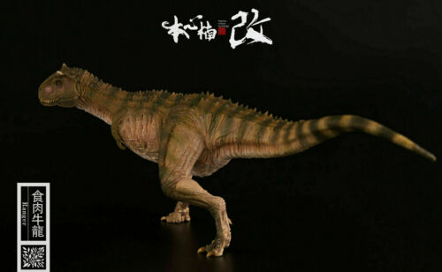 Nanmu 1//35 Carnotaurus Figure Carno Dinosaur Model Dinos Collector Kid Toy Gift