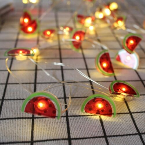 20 LED 2m String Light Flamingo Pineapple Shape LED Lamp for Wedding Party US