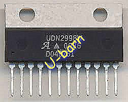 ALLEGRO UDN2998W ZIP-12 DUAL FULL-BRIDGE MOTOR DRIVER