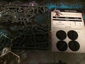 Chaos-Beastmen-4x-traitor-WHMS-Warhammer-40k-Quest-Kill-Team-Blackstone-Fortress