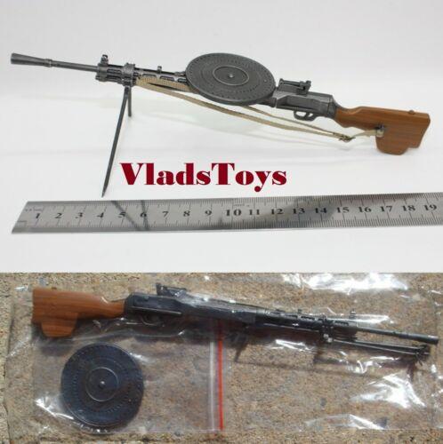 ZY Toys 1//6 WWII Russian Degtyaryov machine gun DM28 LMG ZY-DM28 USA