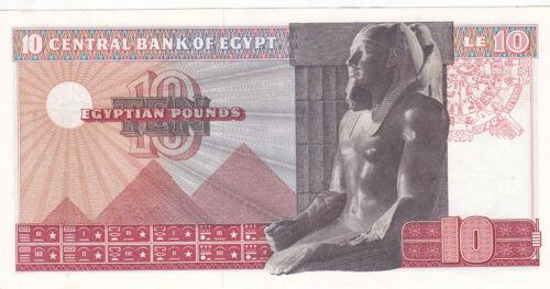 EGYPT 10 EGP 1974 P-46 sig//ZENDO #14 UNC *//*